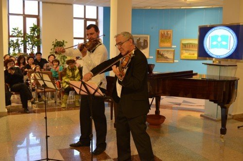 Благотворительный раут в рамках II Международного конгресса «Музыка для всех: международный мастер-класс»