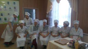 Кулинарный поединок со студентами техникума
