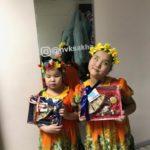 Учащиеся и педагоги приняли участие в социальном проекте, популяризирующем якутскую народную сказку