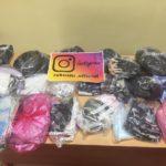 Школа передала 600 многоразовых масок волонтерам